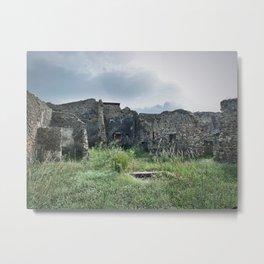 Pompei Metal Print