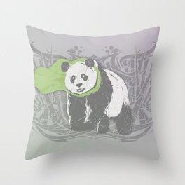 Fearless Creature: Bam Throw Pillow