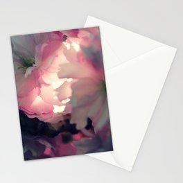 sakura - close up - three Stationery Cards