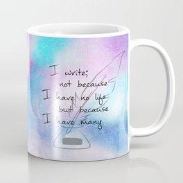 Writer of Lives v1 Coffee Mug