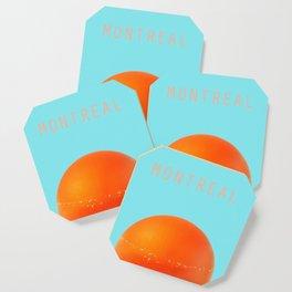 MONTREAL PASTEL Orange Julep Coaster