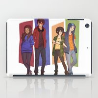 aang iPad Cases featuring MODERN GAANG by Nymre