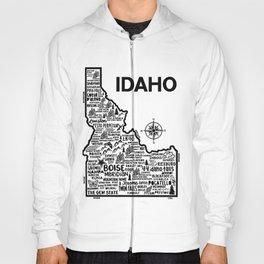 Idaho Map Hoody