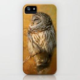 Ollie In Autumn iPhone Case