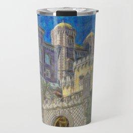 Palacio da Pena Travel Mug