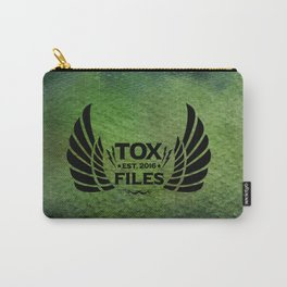 Tox Files - Black on Green Carry-All Pouch