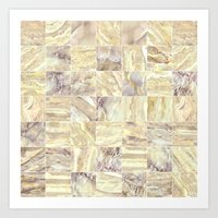 mosaic Art Prints featuring Mosaic by Santo Sagese