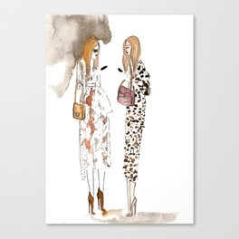 Street style Canvas Print