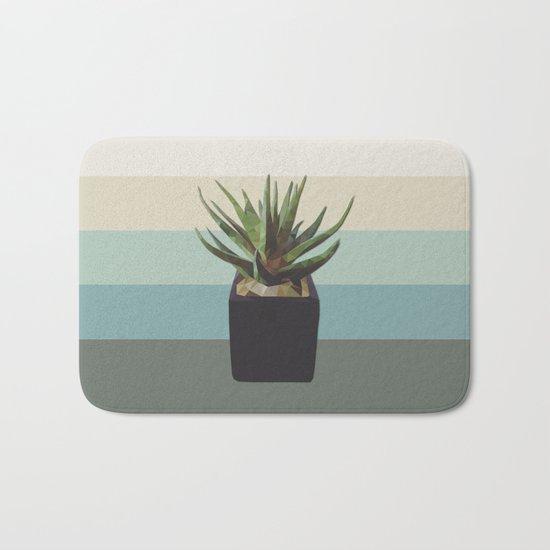 polygon plant Bath Mat