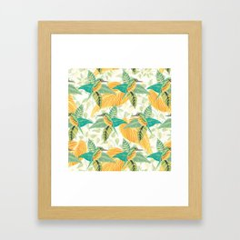 KINGFISHERS PARTY #2 Framed Art Print