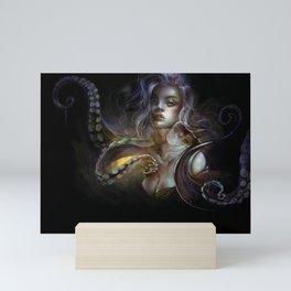 Unfortunate souls - Ursula octopus Mini Art Print