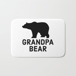 Grandpa Bear Bath Mat