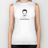 seinfeld Biker Tanks featuring Seinfeld soup by deathtowitches