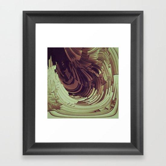 Plates I Framed Art Print