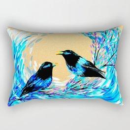 Bower Birds Rectangular Pillow