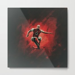 Thierry Henry Arsenal Metal Print