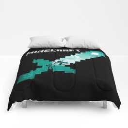 Diamond sword mine Comforters