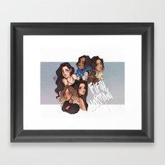 miss movin' on Framed Art Print