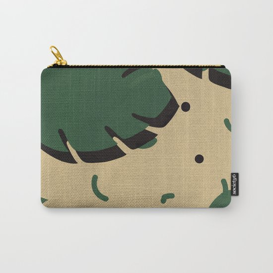 Monstera leaf 1 Carry-All Pouch