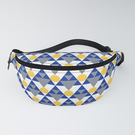 Modern Winter Pattern Fanny Pack