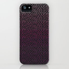 Ombre Dots iPhone Case