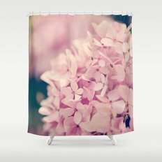 Come Hither, Pink Shower Curtain
