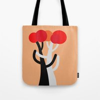 blankets Tote Bags featuring Let's dance! by Roxana Jordan