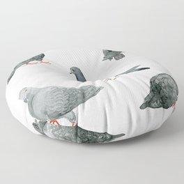 PIGEONS Floor Pillow