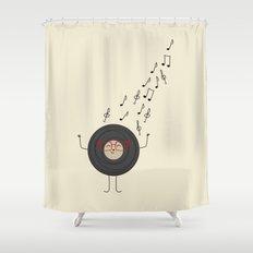 THEODORE THE VINYL Shower Curtain