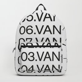 "Top TEN Famous ""Vans"" Backpack"
