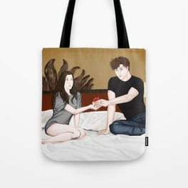 first time's a charm Tote Bag