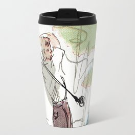 Are You Looking At My Putt? Travel Mug