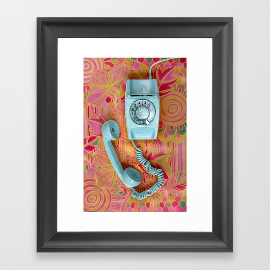 It's for you ... Framed Art Print