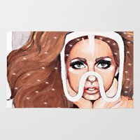 artpop Area & Throw Rugs featuring ARTPOP by Anett Borges