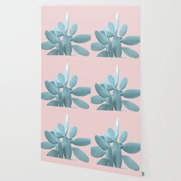 Blush Cactus #1 #plant #decor #art #society6 Wallpaper
