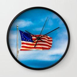 Original Flag Wall Clock