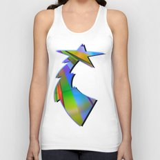 Rainbow Point Unisex Tank Top