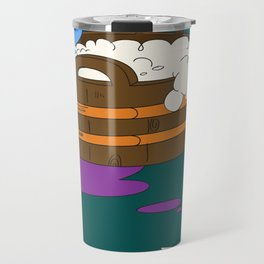 SUICIDAL SMURF  Travel Mug