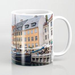 Nyhavn waterfront in Copenhagen Coffee Mug