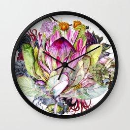 Magic Garden I Wall Clock