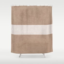 natural and white classic Shower Curtain