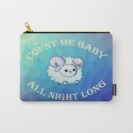 Count me baby Carry-All Pouch