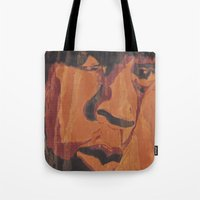 jay fleck Tote Bags featuring Jay by 100mill