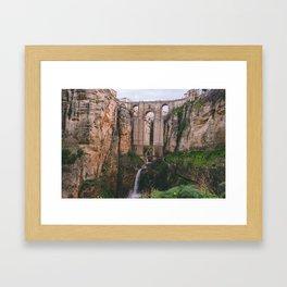 Rhonda bridge Framed Art Print