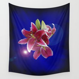 The Stargazer Night Wall Tapestry