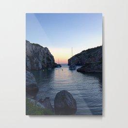 Sunset at Alaior - Menorca - Balearic Islands Metal Print