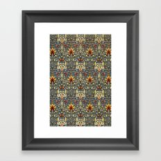 Snakeshead design Framed Art Print