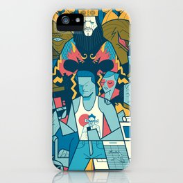 Big Trouble iPhone Case