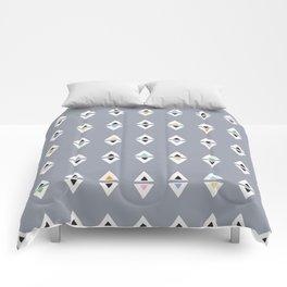 ALWAYS TRIANGLES Comforters