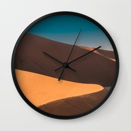 Namibia desert Wall Clock